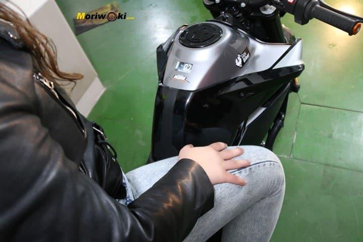 Cómo es una moto naked ccc