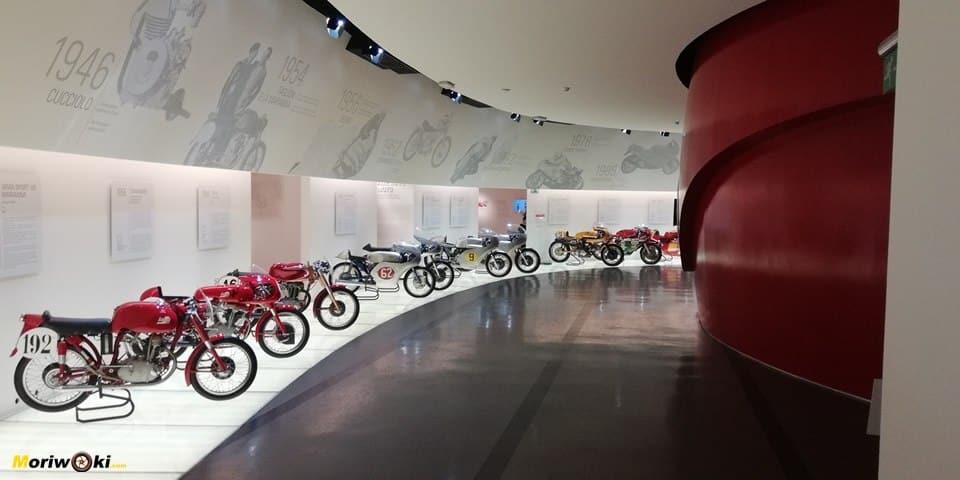 El Museo Ducati: un mágico Resplandor