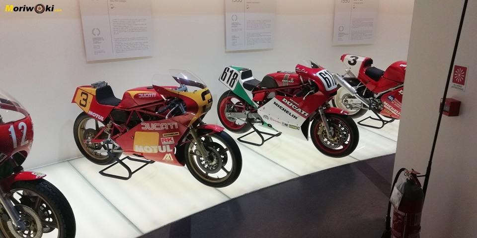 Primeras campeonas Ducati de Super bikes en el museo de la marca