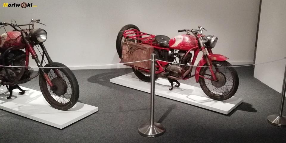 Ducatis trotamundos de los sesenta en el Museo