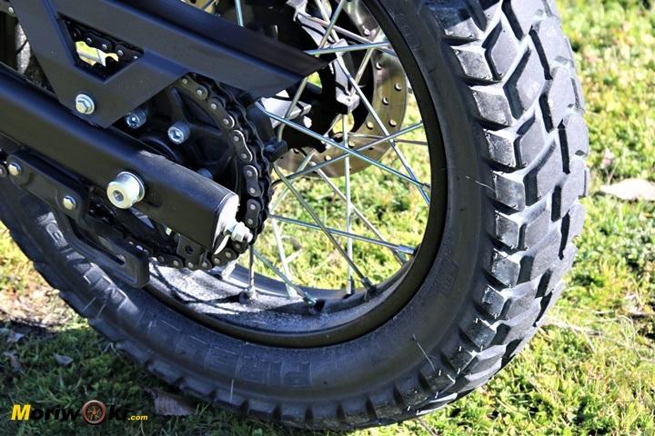 Pirelli MT 60 de la Royal Enfield Himalayan