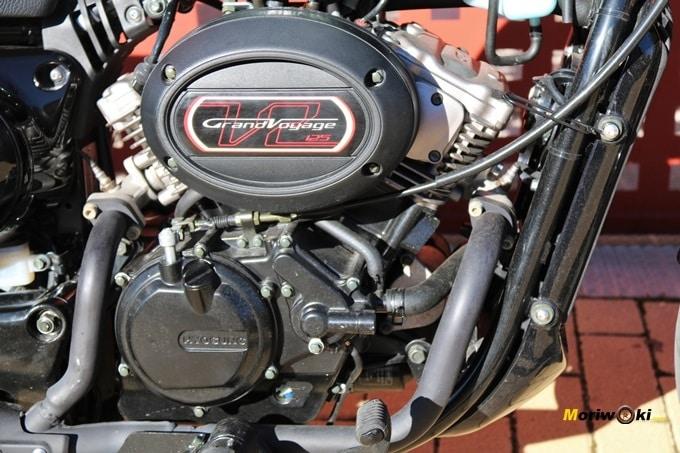 Hyosung Aquila GV 125S motor uve