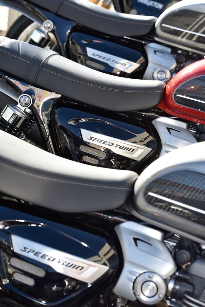 3 variantes de la Triumph Speed Twin 1200