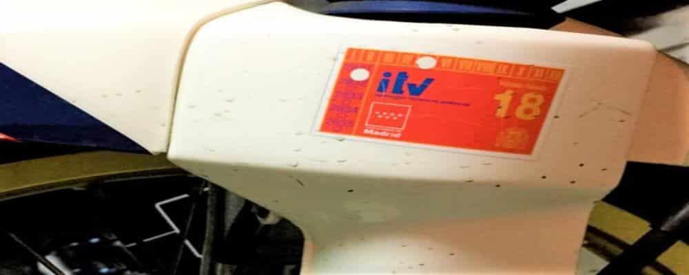 La matrícula de moto ideal