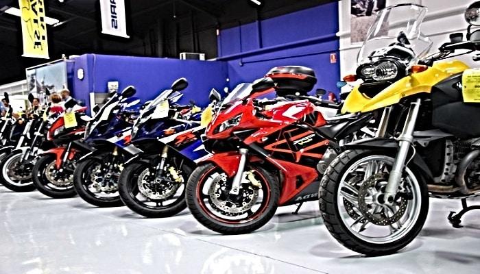 concesionario de motos de segunda mano