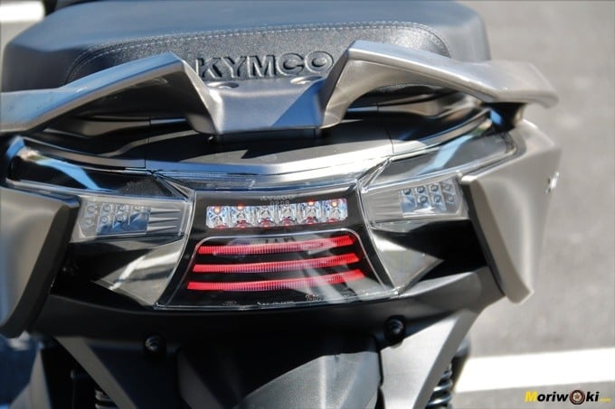 Luces traseras del Kymco Xciting 400