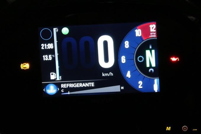 La Triumph Tiger 1200 XCA y su pantalla
