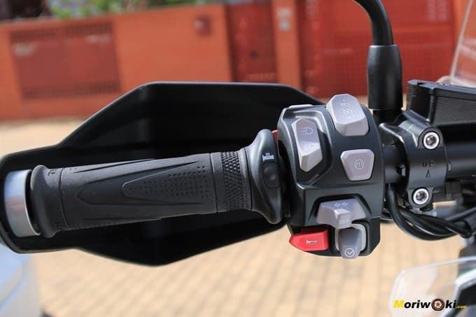 Piña izda de la Triumph Tiger 1200 XCA