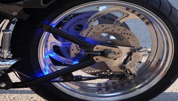 rueda de una BMW