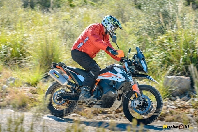 La perfecta adaptación de la KTM 790 Adventure R a cada nivel off road.