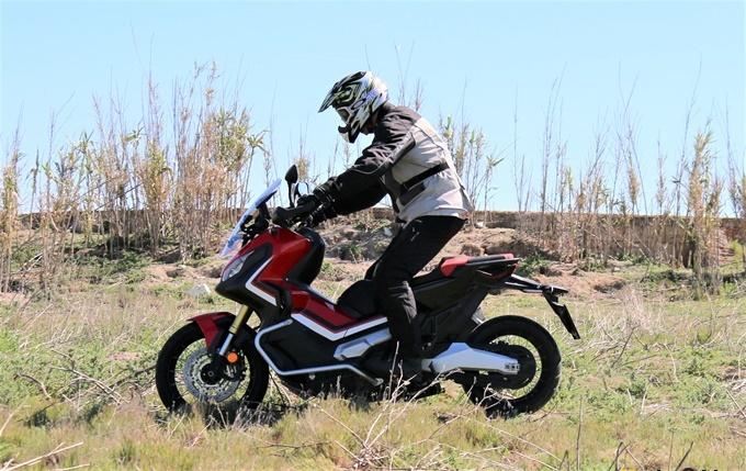 Campo a través con el Honda X-ADV