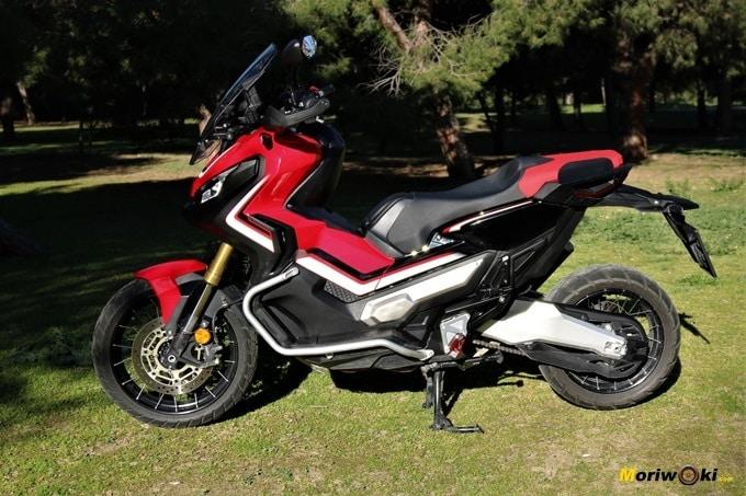 Perfil izquierdo del Honda X_ADV