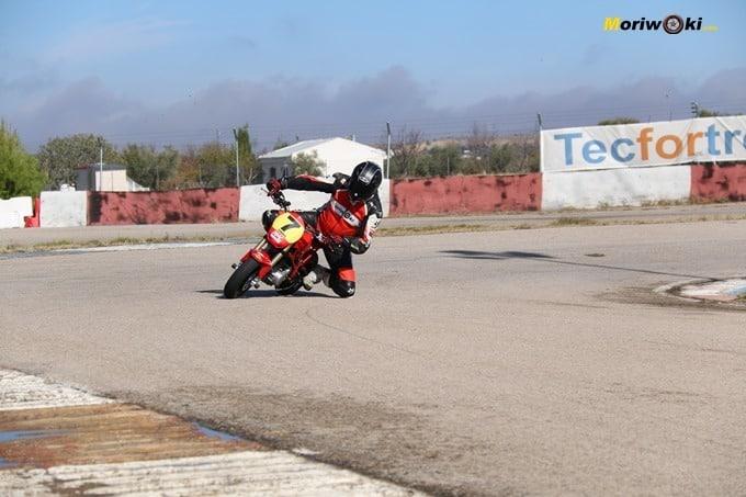 Curva de Ocaña. Circuitos Pit Bikes Zona Centro.