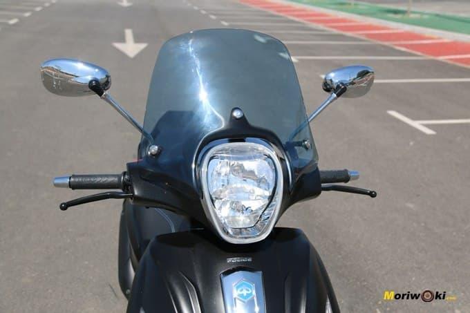 Parabrisas del Piaggio Beverly 350 Police.