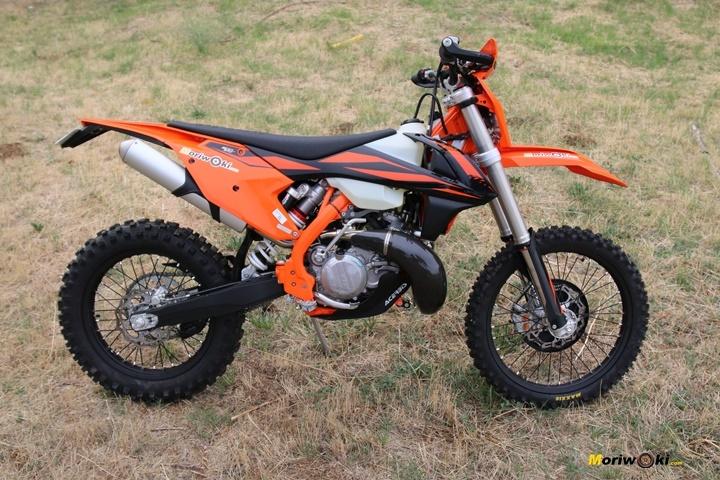 Objetivo Enduro +100, con la KTM 300 EXC TPI.