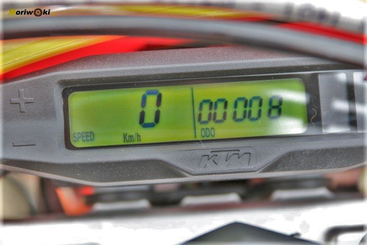 Objetivo Enduro +100, el display de la KTM