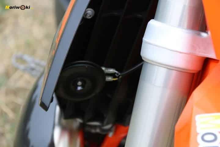 Objetivo Enduro +100, bocina de la KTM