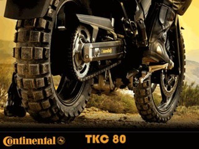 Tipos de motos y su comportamiento. Conti TKC 80