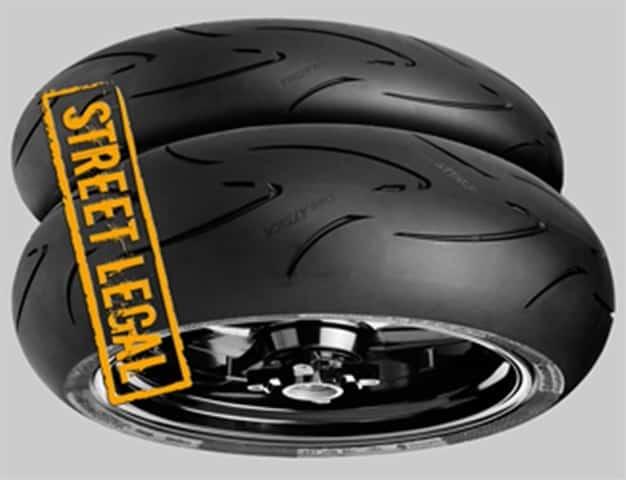 Tipos de neumáticos Continental Race Attack Comp.