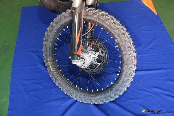 Enduro Ecológico delantero en Tipos de neumáticos