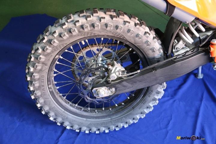 Enduro Ecológico en Tipos de neumáticos