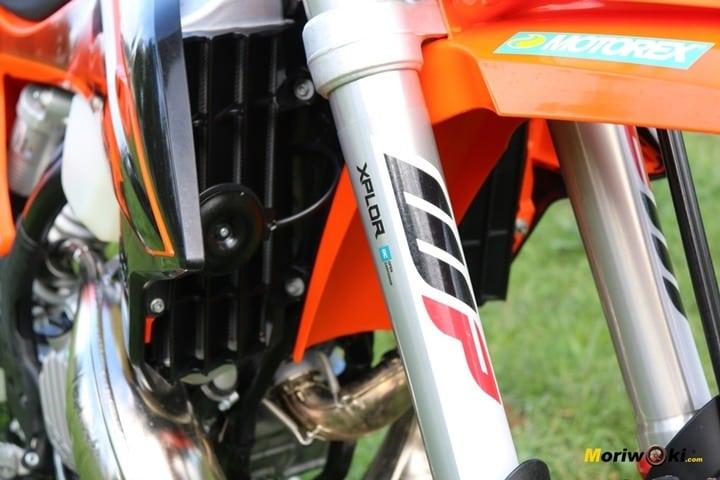 Prueba KTM EXC 300 TPI (2020). Horquilla invertida de WP serie XPLOR