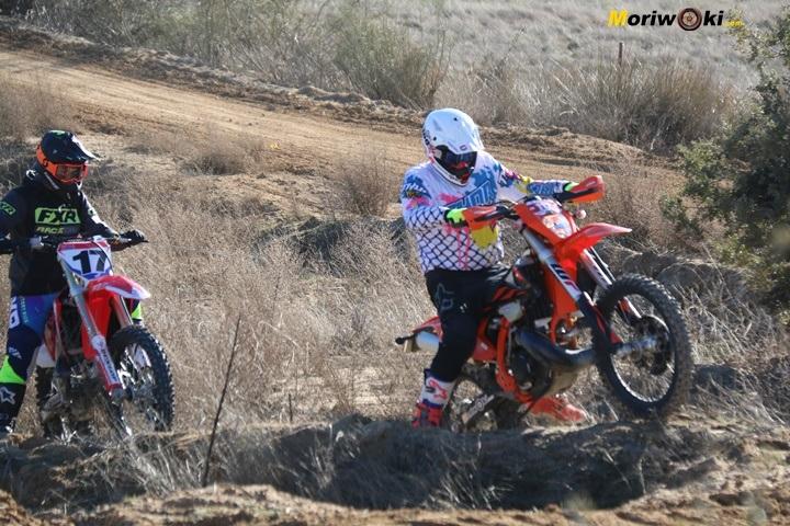 Curso de moto off road. Continua Supervisión.