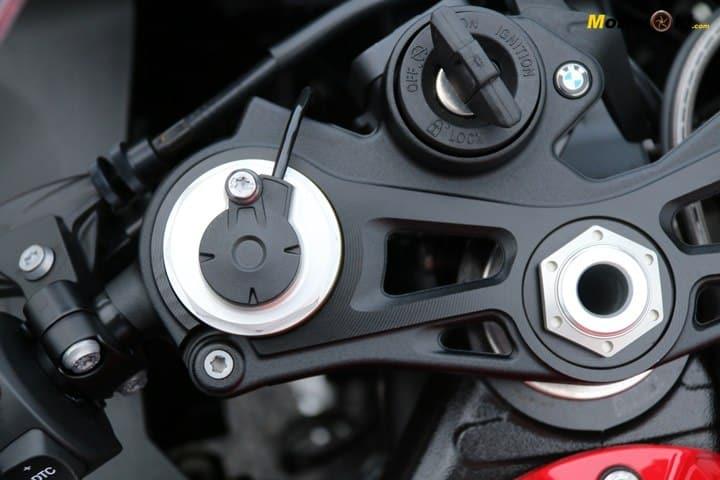 La BMW S1000RR 2019 y sus suspensiones semiactivas.