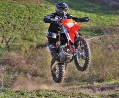 Prueba KTM EXC 450 F