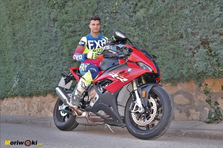 Viniendo del Motocross a la moto de velocidad