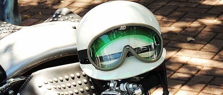 Cascos vintage para motos