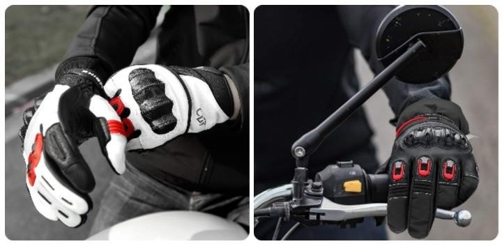 ventajas guante moto circuito