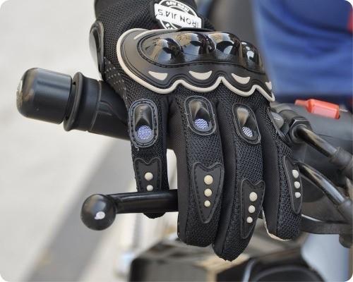 ventajas guante moto enduro