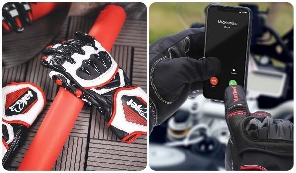 ventajas guantes moto carretera