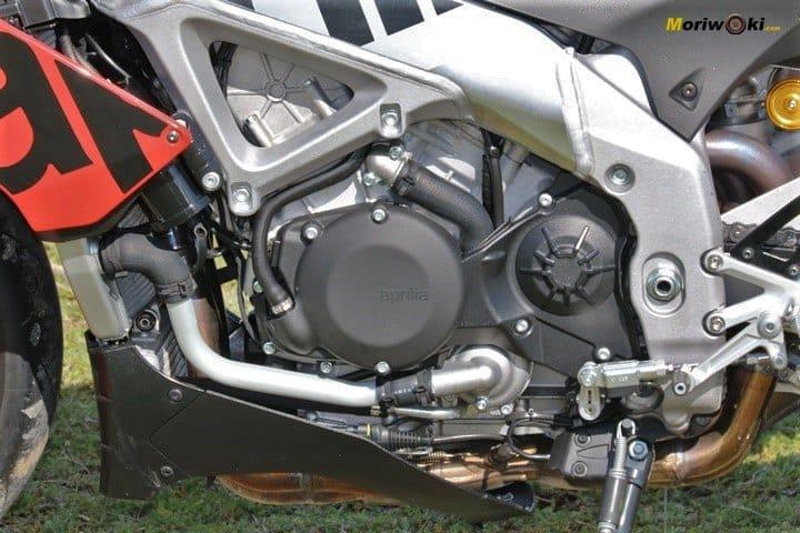 Asi es el motor de la Aprilia Tuono V4 1100 Factory MY19