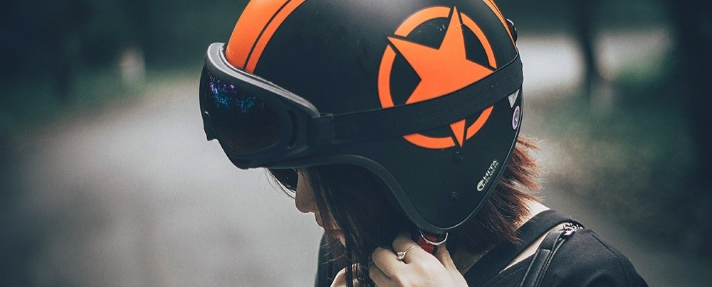 ¿Qué tipo de casco de moto me pongo?