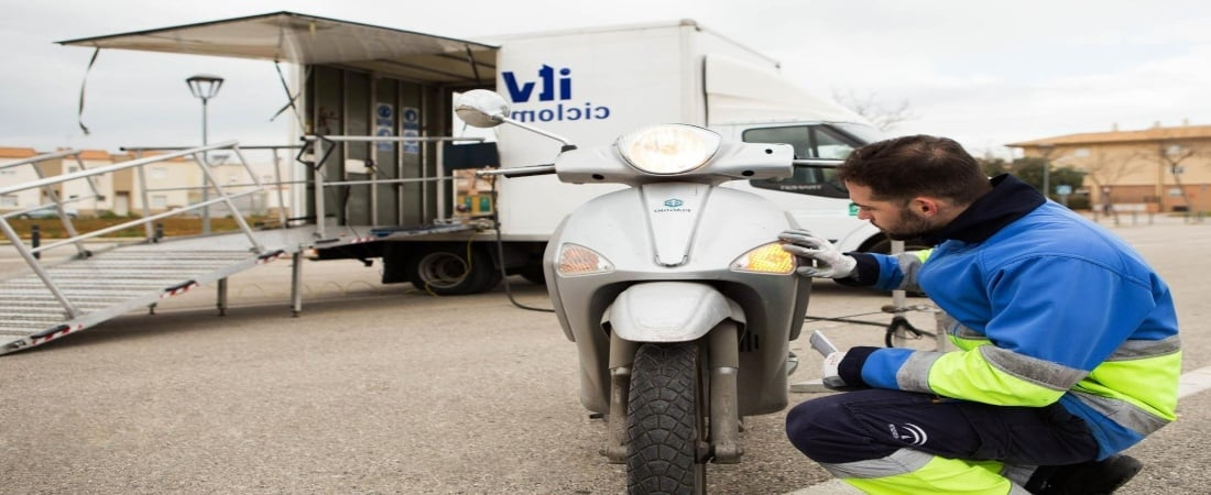 Precio de la ITV para motos