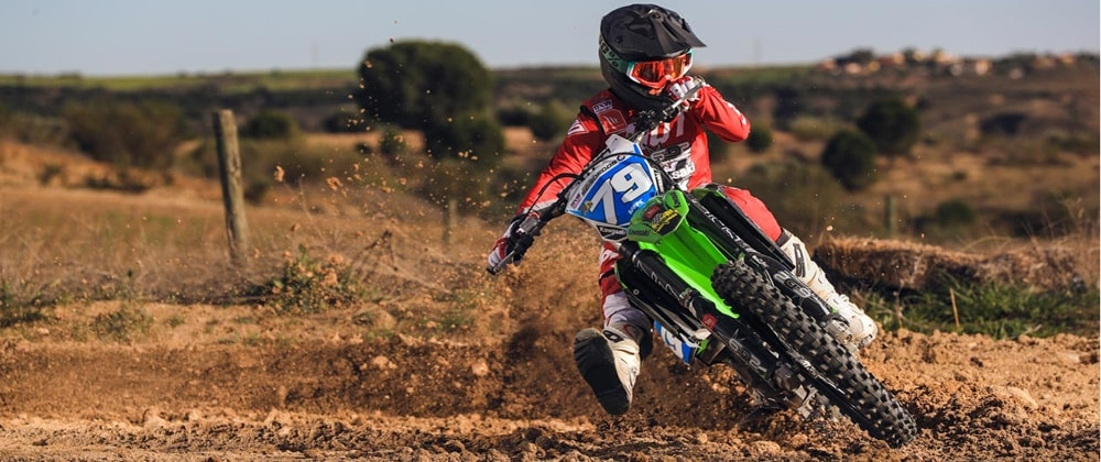 Gabriela Seisdedos, así es el Motocross Femenino