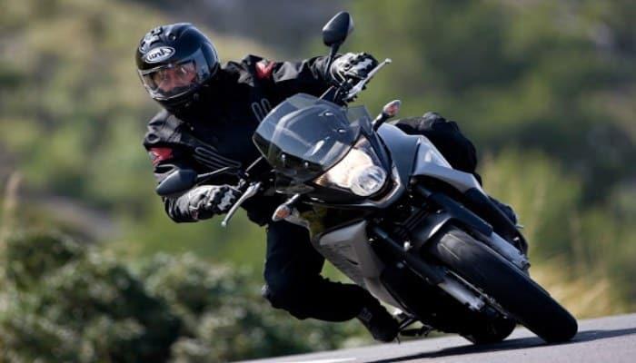 curva de moto