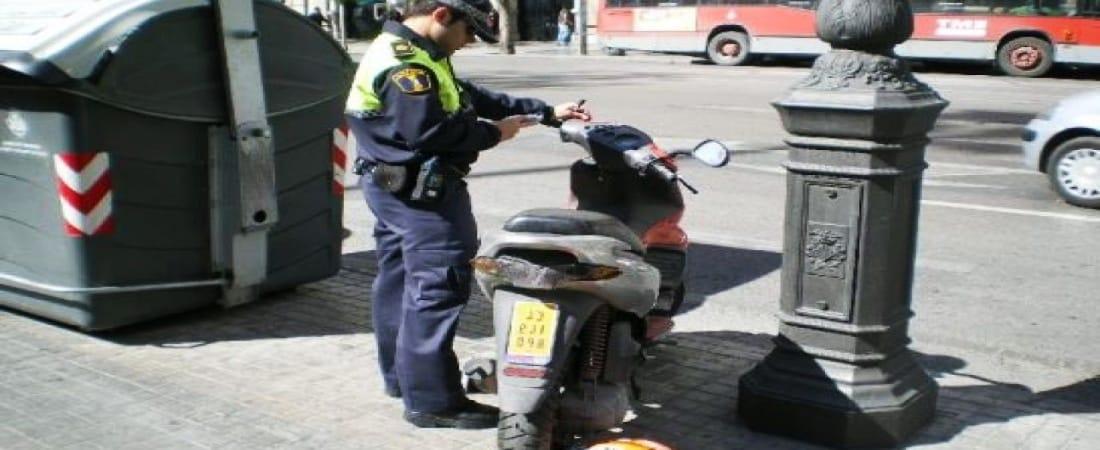 Cómo recurrir una multa de moto