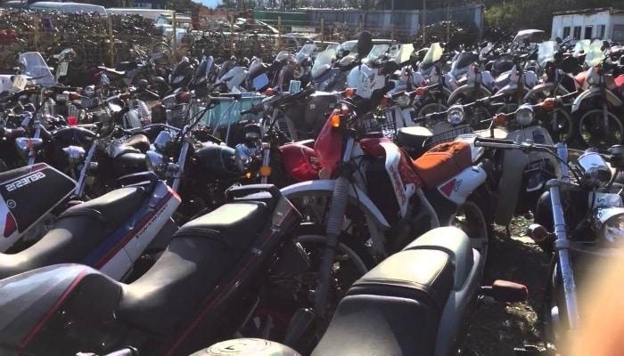 subasta de motos