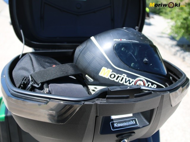Baúl de la Kawasaki Versys 1000SE.