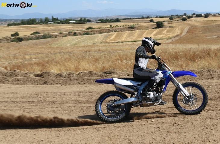 Prueba Yamaha SX250F Aceleración a fondo.