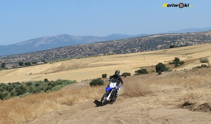 Prueba Yamaha YZF250 panoramica.