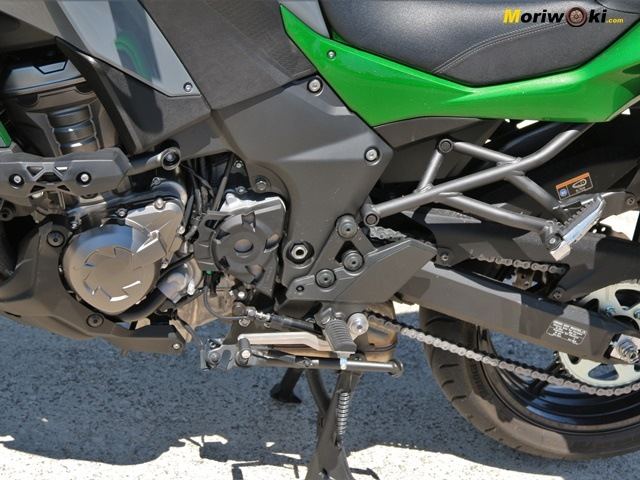 Caballetes de la Kawasaki Versys 1000SE