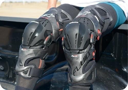 opinion-ventajas rodillera alpinestars moto