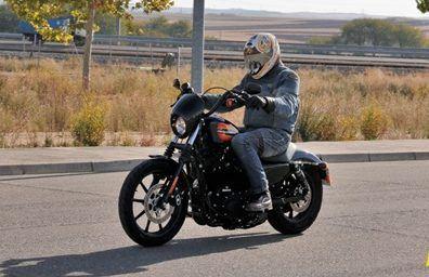 Harley Iron 1200 en ruta