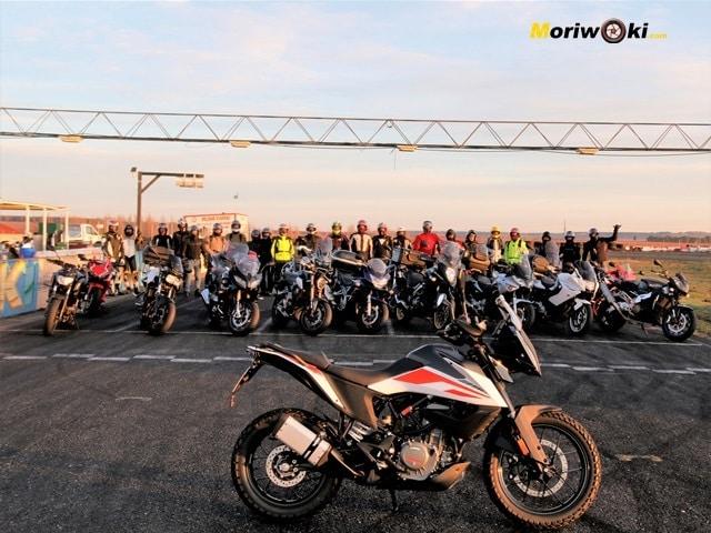 KTM 390 Adventure para todos