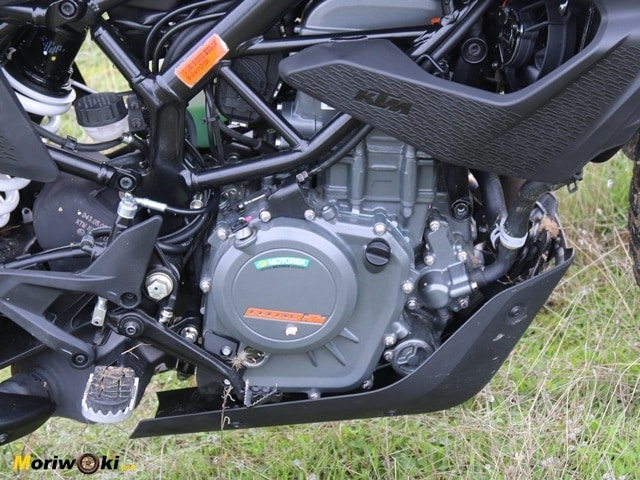 Prueba KTM 390 Adventure. Motor