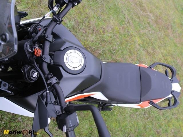 Posicion. Prueba KTM 390 Adventure